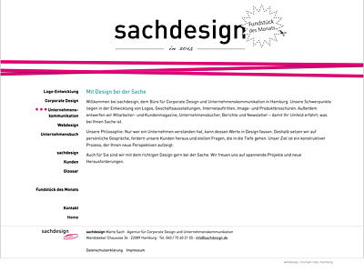 sachdesign, Hamburg